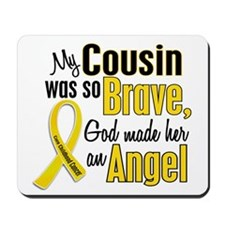 Angel 1 COUSIN Child Cancer Mousepad