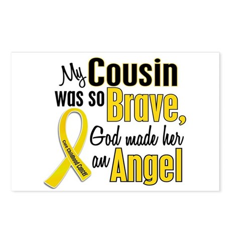Angel 1 COUSIN Child Cancer Postcards (Package of