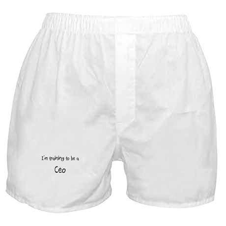 I'm training to be a Ceo Boxer Shorts