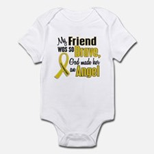 Angel 1 FRIEND Child Cancer Infant Bodysuit