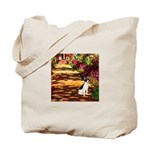 Path / Rat Terrier Tote Bag