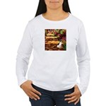 Path / Rat Terrier Women's Long Sleeve T-Shirt