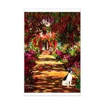 Path / Rat Terrier Mini Poster Print