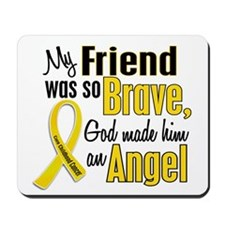Angel 1 FRIEND Child Cancer Mousepad