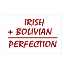 Irish + Bolivian heritage Postcards (Package of 8)