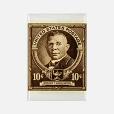 Postage stamps Rectangle Magnet
