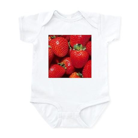 Strawberries Infant Bodysuit