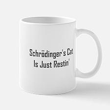 Schrodinger's Cat Is Just Res Mug