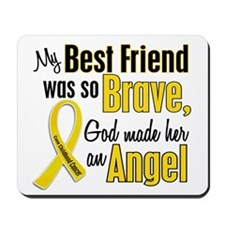 Angel 1 BEST FRIEND Child Cancer Mousepad