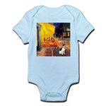 Cafe / Rat Terrier Infant Bodysuit