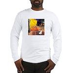 Cafe / Rat Terrier Long Sleeve T-Shirt