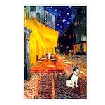 Cafe / Rat Terrier Postcards (Package of 8)
