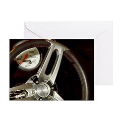 Steering Wheel Greeting Card