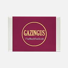 """Gazingus Pin"" Rectangle Magnet"