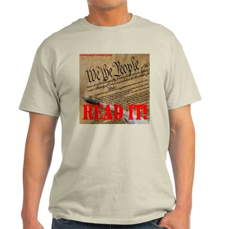 READ THE CONSTITUTION! Light T-Shirt