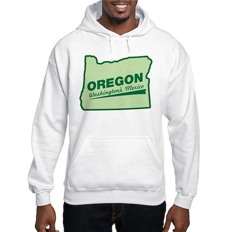 oregon - washington's mexico Hooded Sweatshirt