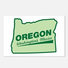 oregon - washington's mexico Postcards (Package of
