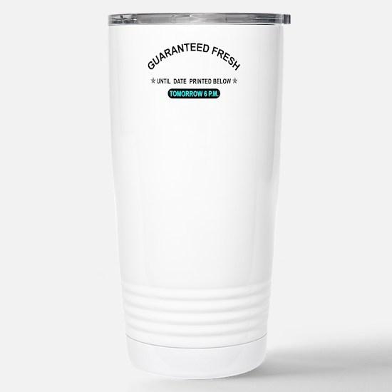 GUARANTEED FRESH Stainless Steel Travel Mug