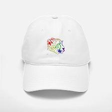Rainbow Cheetah Baseball Baseball Cap