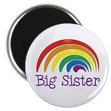 Big Sister Rainbow Magnet