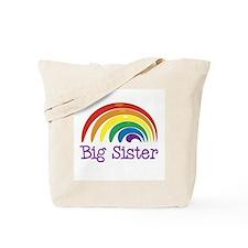 Big Sister Rainbow Tote Bag