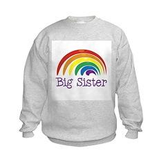 Big Sister Rainbow Sweatshirt