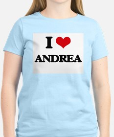 I Love Andrea T-Shirt