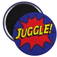 "Juggle Action 2.25"" Magnet (10 pack)"