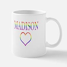 Madison - Rainbow Heart Mug