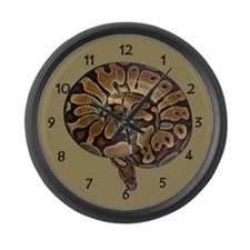 Ball Python Large Wall Clock