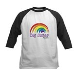 Big sister again rainbow Long Sleeve T Shirts