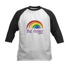 Big Sister Again Rainbow Tee