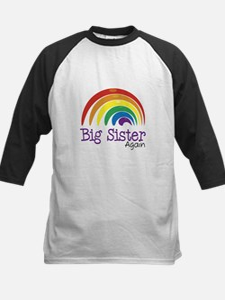 Big Sister Again Rainbow Tee