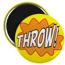 """Throw Action 2.25"""" Magnet (10 pack)"""