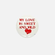 My Love Mini Button (10 pack)