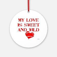 My Love Ornament (Round)