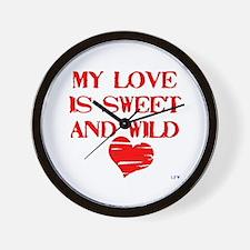 My Love Wall Clock