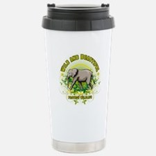 Wild Elephant Travel Mug