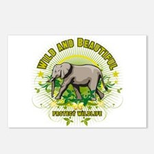 Wild Elephant Postcards (Package of 8)