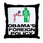 Obama Bow Throw Pillow