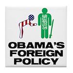 Obama Bow Tile Coaster