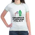 Obama Bow Jr. Ringer T-Shirt