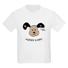 Adopt a Pet! Cute Puppy Design T-Shirt