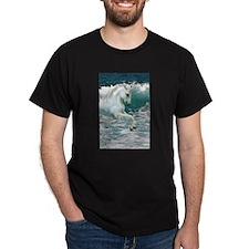Sea Horse Black T-Shirt