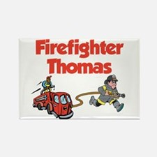 Firefighter Thomas Rectangle Magnet
