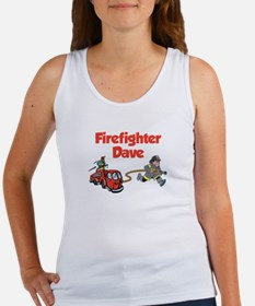 Firefighter Dave Women's Tank Top