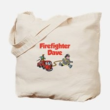Firefighter Dave Tote Bag