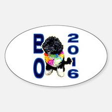 BO OBAMA 2016 - Oval Decal