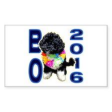 BO OBAMA 2016 - Rectangle Decal