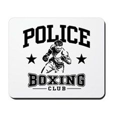 Police Boxing Mousepad